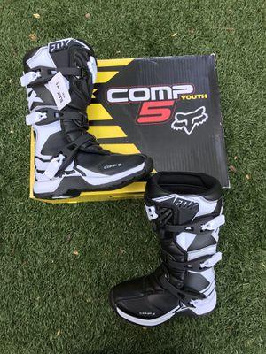 "Fox Boots ""Comp5"" Motocross,new, Size Y1 for Sale in Marietta, GA"