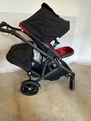 Britax Double Stroller - Red/Black for Sale in Germantown, MD