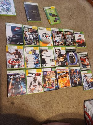 41 Xbox 360 Games. $7 each or all. for Sale in Woodbridge, VA