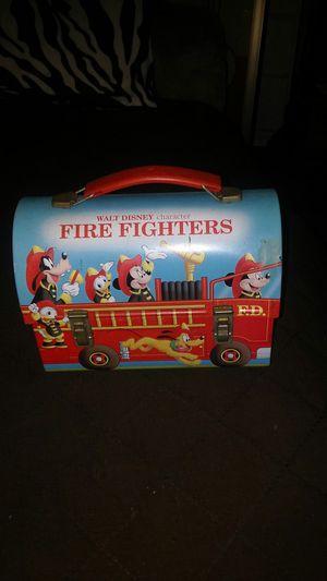 Walt Disney Firefighters Lunch Box for Sale in Pomona, CA