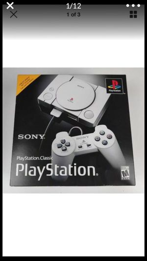 Play Station 1 Mini Classic Modded 101 Games!! 720p for Sale in Lancaster, CA
