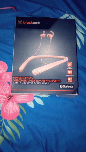 Blackweb rose gold neckband earphones for Sale in Boynton Beach, FL