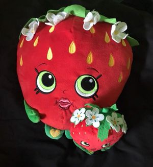 Shopkins Strawberry Kiss Plush & Pillow for Sale in Avon Lake, OH