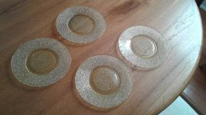 Four Depression-era Crackle Glass Salad Dishes for Sale in Silver Spring, MD