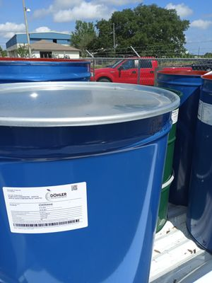 Clean food grade barrels. With lids and clamps. I can deliver for Sale in Auburndale, FL