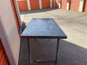 Standard Stainless Steel Worktable for Sale in Fountain Valley, CA