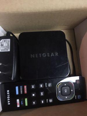 Netgear IPTV box Netflix Hulu Amazon for Sale in Miami, FL