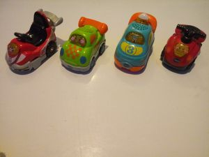 Vtech play cars for Sale in Riverside, CA