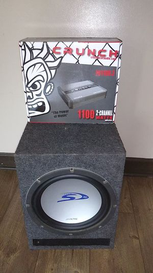 Speaker and amplifier for Sale in Chicago, IL