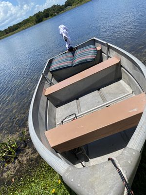 Boat and gas motor for Sale in Clearwater, FL