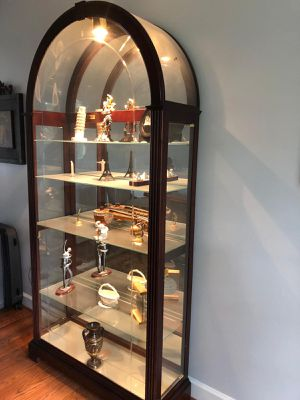Antique Lighted Curio Cabinet for Sale in Herndon, VA