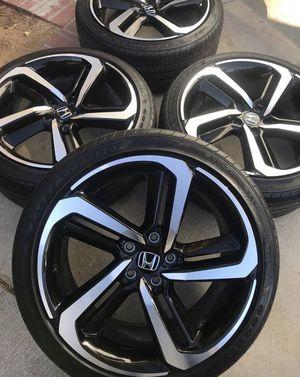 Honda Accord sport '19 rims for Sale in Carson, CA