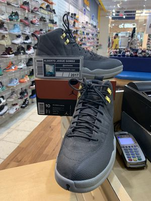 Air Jordan 12 Dark Grey Size 10 for Sale in Kensington, MD