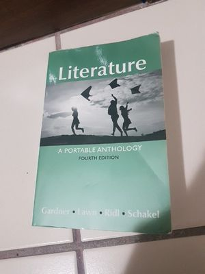 Literature A portable anthology fourth edition for Sale in Miami Gardens, FL