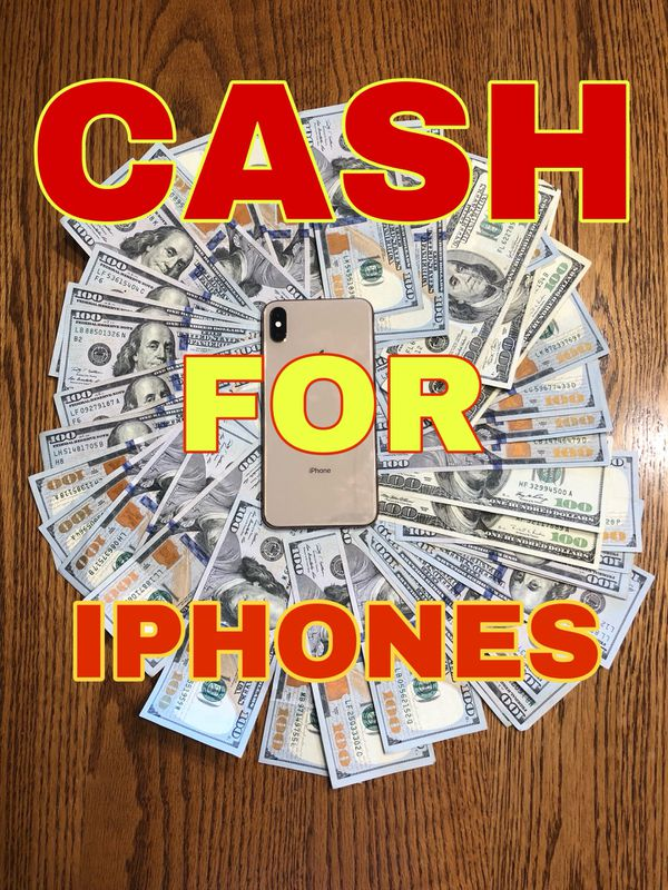 CASH FOR IPHONES OF ANY CONDITION