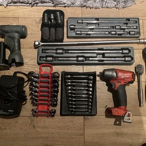 Snap On Milwaukee Matco Silver Eagle Ratchet Wrenches Tool Lot Impact Read Description For Prices for Sale in West Islip, NY