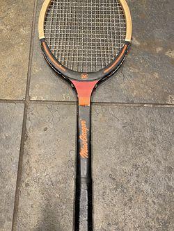 Vintage MacGregor Wood Tennis Racket for Sale in Sacramento,  CA