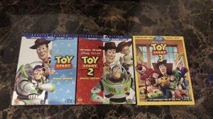 Toy Story 1,2,3 BluRay for Sale in Raleigh, NC