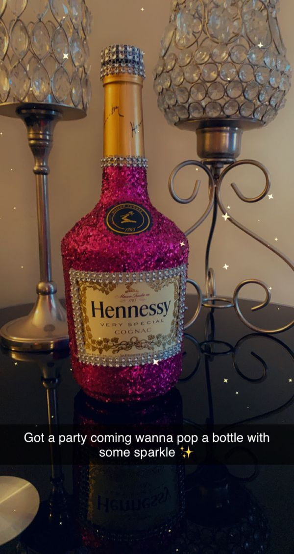Decorated bottle