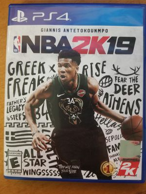 2k19 ps4 for Sale in West Valley City, UT