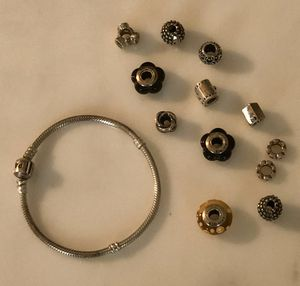 Pandora Bracelet with Charms for Sale in Barrington, IL