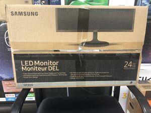 "Samsung 24"" Monitor for Sale in Detroit, MI"