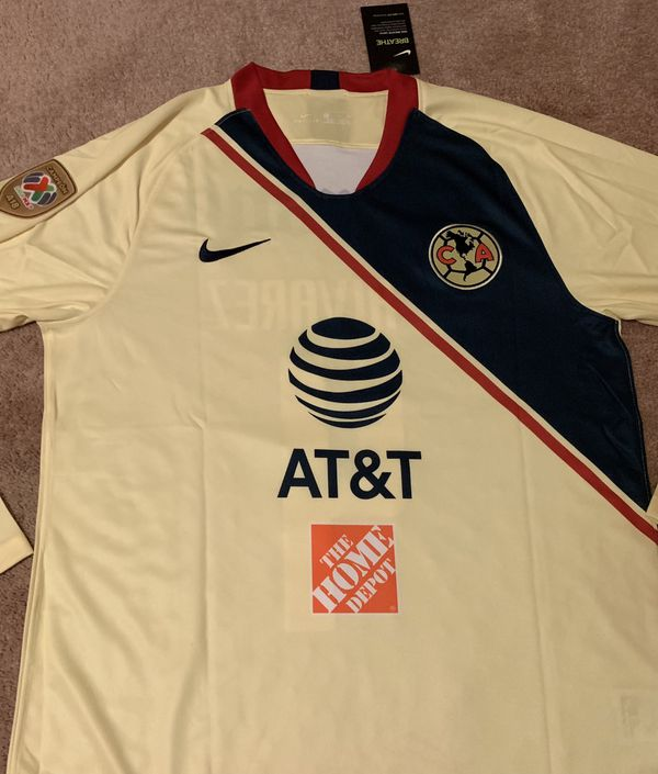low priced 85702 64919 Nike Club America Long sleeve jerseys for Sale in Compton, CA - OfferUp