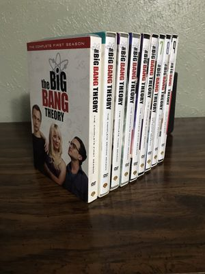 Big Bang Theory DVD Season 1-9 for Sale in Austin, TX