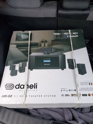 Daneli 1500w 5.1 home theater system for Sale in Citrus Heights, CA