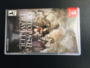 Octopath traveler and Nintendo online membership for Sale in Land O Lakes, FL