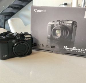 Canon Powershot G10 for Sale in Seattle, WA