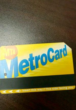 Unlimited Monthly Metro Card for Sale in New York, NY
