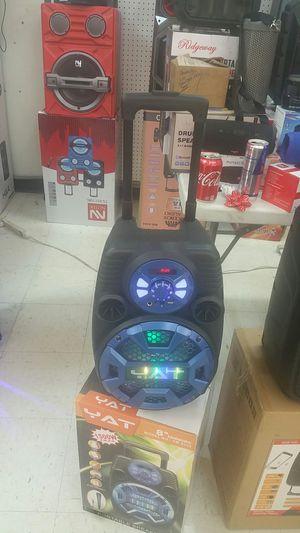Karaoke speaker Bluetooth for Sale in Dallas, TX