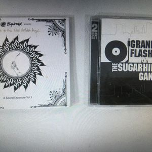 LOT OF 2 RAP CDs (Grandmaster Flash v The Sugarhill Gang) (Equinox) for Sale in Layton, UT