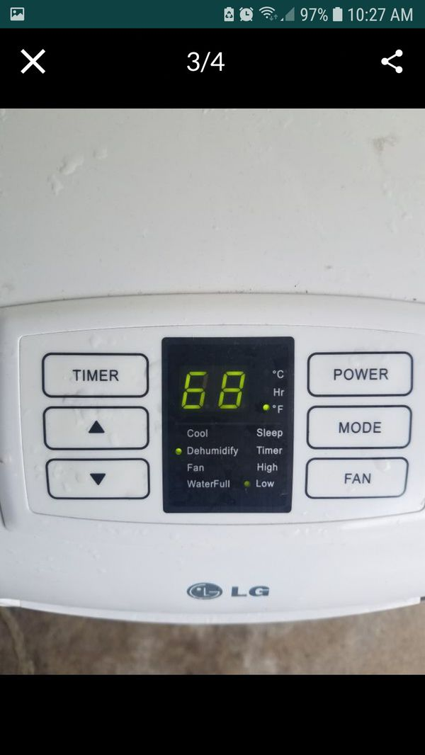 LG portable air conditioning