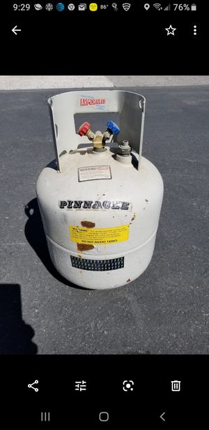 Pinnacle Freon recovery tank for Sale in Jefferson, OH