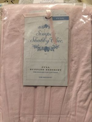 Simply Shabby Chic - Full Ruffled Bedskirt! NWT for Sale in Olney, MD