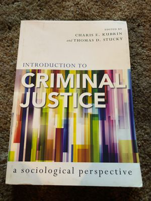 Introduction to Criminal Justice for Sale in Garden Grove, CA