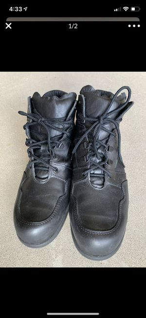 Thorogood High Top Work Boots. Non-slip. size 12-M for Sale in YSLETA SUR, TX