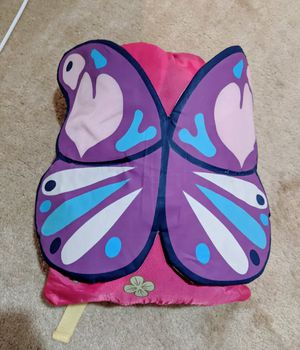 Butterfly backpack sleeping bag for Sale in Rockville, MD