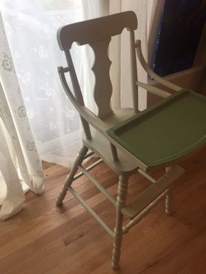 Antique baby high chair for Sale in Vancouver, WA