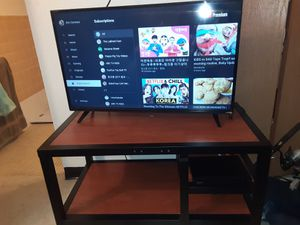 """41 """" smart tv tv stand and dvd player 200 for Sale in San Antonio, TX"""