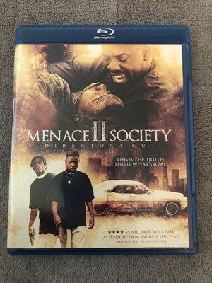 Menace II Society Blu-ray for Sale in Tampa, FL