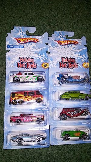 2008 Holiday Hot Wheels Collection for Sale in North Webster, IN