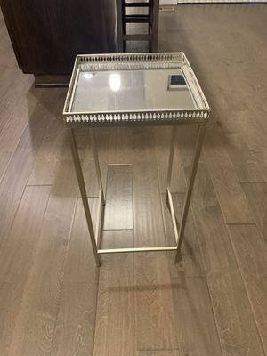 Silver End Table for Sale in Beaverton, OR