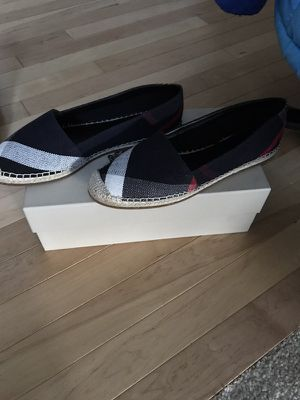 Burberry Hodgeson Check Print Espadrilles for Sale in Seattle, WA