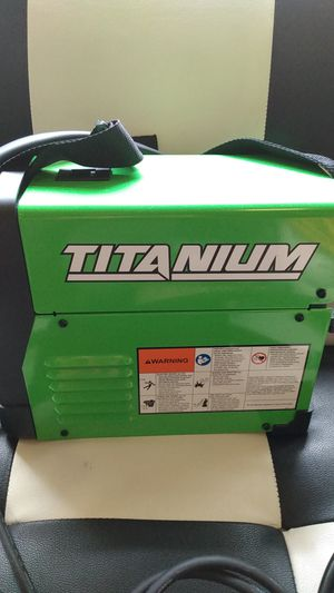 Titanium 125 wire feed welder brand new never been used with state of the art welders helmet also new 250.00i will post pictures later for Sale in Seattle, WA