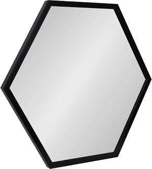 Modern Hexagon Framed Wall Mirror, 14x15, Black, Geometric Wall Decor for Sale in Tinley Park, IL