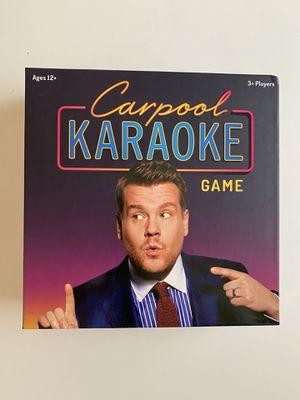 Carpool Karaoke Board Game for Sale in Bothell, WA