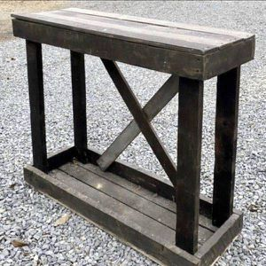 Rustic Country Farmhouse Solid Wood Sofa Console Table Entryway Stand Kitchen Island Foyer Potting Bench for Sale in Chapel Hill, NC